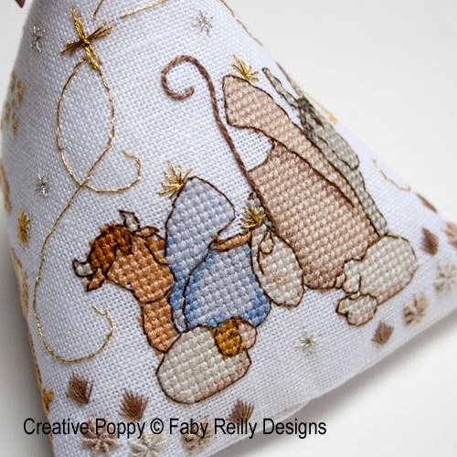 Berlingo cr�che, grille de broderie, cr�ation Faby Reilly