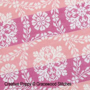 Carolina, broderie point de croix, cr�ation Gracewood Stitches