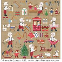 Le Père Noël est très occupé, GM- Perrette Samouiloff</b>