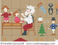 Le Père Noël est très occupé, GM- Perrette Samouiloff