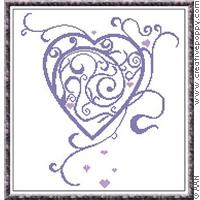 Voir toutes les broderies avec des coeurs, création Alessandra Adelaide