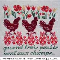 Quand trois poules....