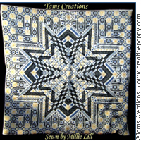 Starmania - modèle de Blackwork - Tam's Creations