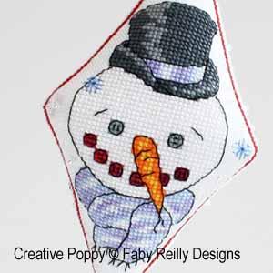 Pendouille Boniface, le bonhomme de neige