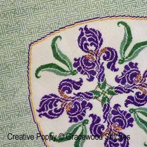 Iris au celadon