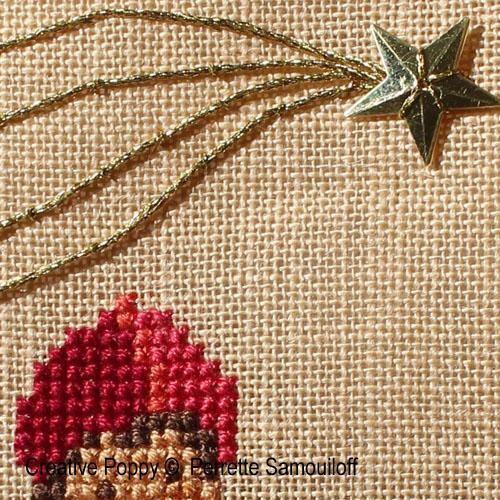 Tutoriel gratuit: étoile filante à broder