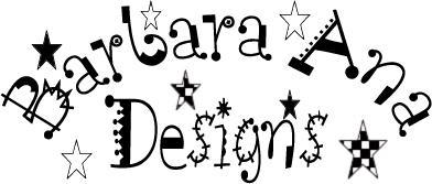 Grilles de broderie point de croix créations Barbara Ana