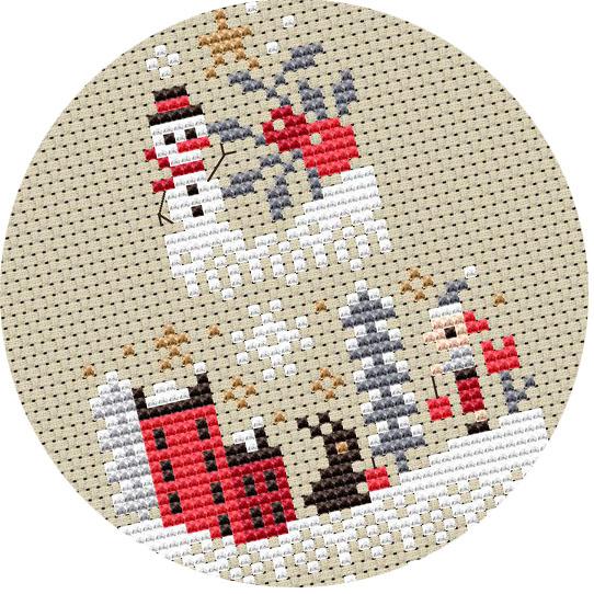 Barbara Ana Designs - Grille Mystère Noël 2020 - Les voyages du Père Noël