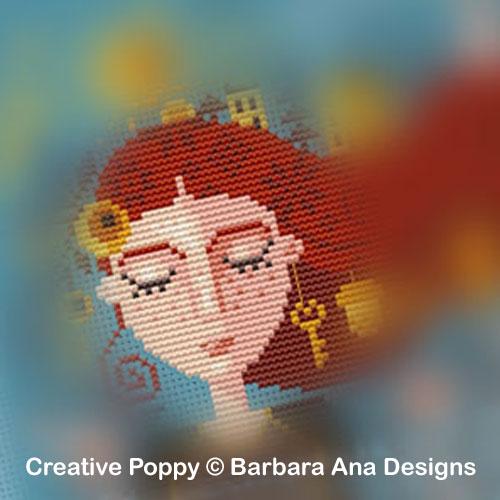 Barbara Ana Designs - Grille Mystère (SAL) La fille qui rêve