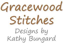 grilles de broderie de point de croix créées par Gracewood Stitches