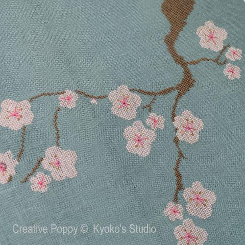 Modèles de broderie, création Kyoko's Studio
