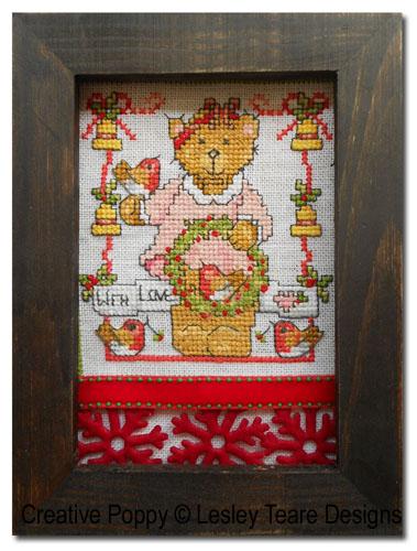 Encadrements décoratifs pour broderie: mariez les accessoires!