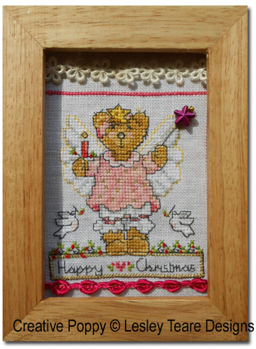 Accessories and embellishments used for framing the Cute Christmas Teddy cards - case 3