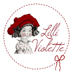 grilles de broderie point de croix création Lilli Violette