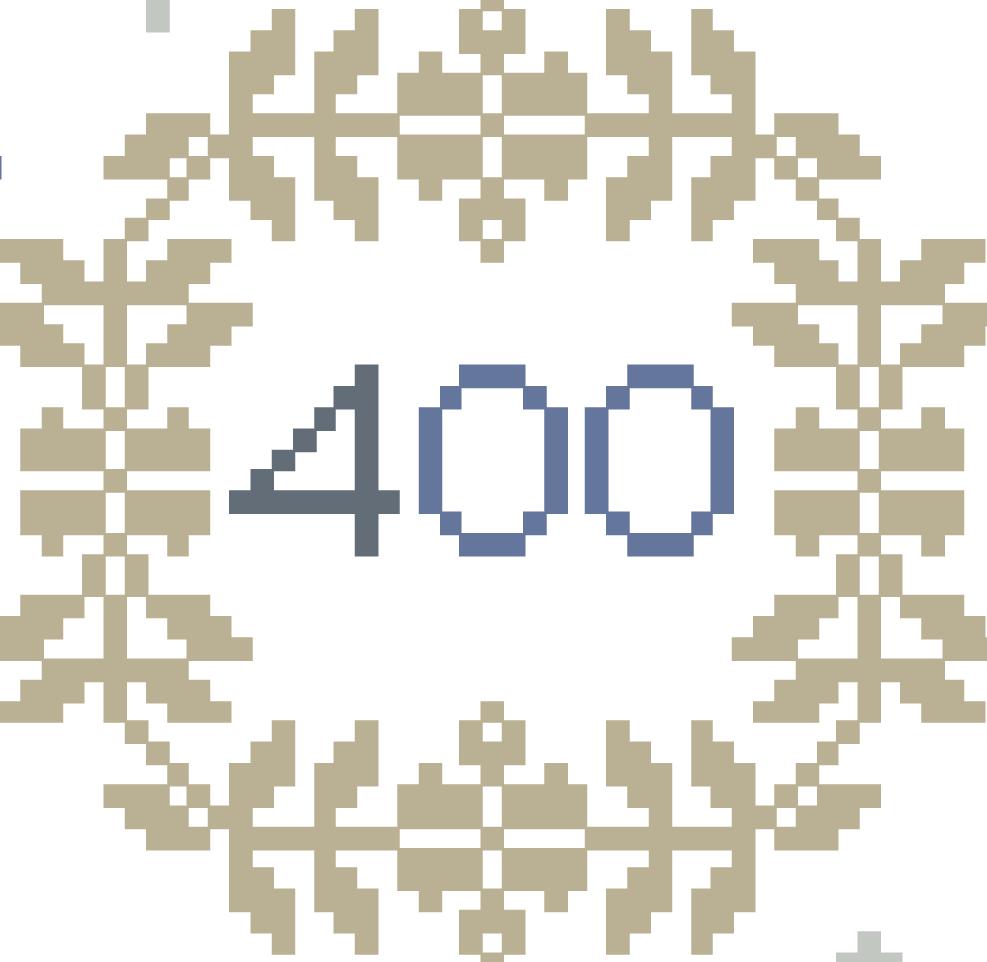 400 fait référence à l'anniversaire de la traversée du Mayflower en 1620