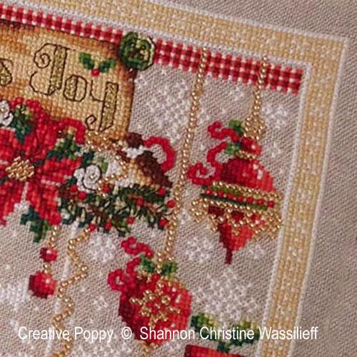 Shannon Christine Wasilieff - Les joies de Noël (grille de broderie point de croix)