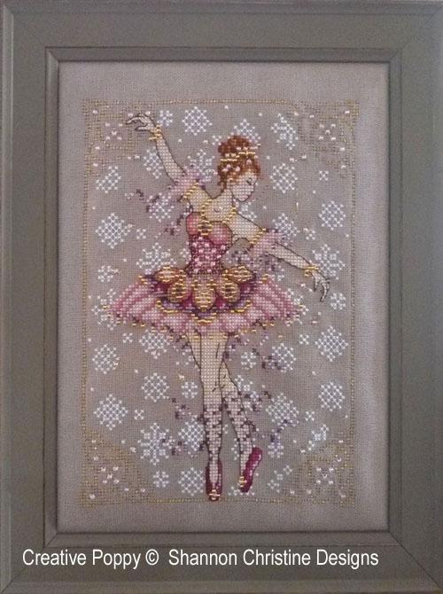 La fée sucre-d'orge, grille de broderie, création Shannon Christine Wasilieff