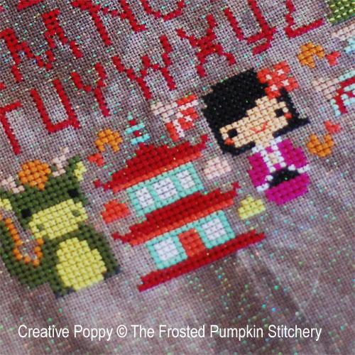 Modèles de broderie créés par The Frosted Pumpkin Stitchery