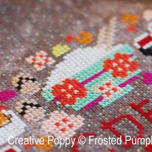 Le festival des cerisiers en fleurs The Frosted Pumpkin Stitchery