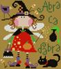 Olivia, la fée sorcière, Création Barbara Ana - grille point de croix