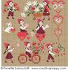 Les petits amoureux, une création Perrette Samouiloff (petit modèle)