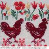 Quand trois poules..., une création Perrette Samouiloff