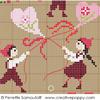Les petits amoureux, une création Perrette Samouiloff (grand modèle) - zoom