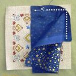 Comment réaliser un biscornu avec du tissu coordonné - Par Tam's Creations