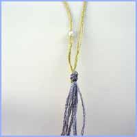 Le noeud une fois tendu