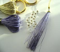 Pompons miniatures pour la finition de vos ornements brodés