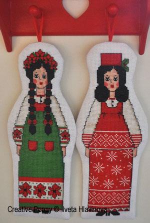 Inspiration russe (2 poupées)