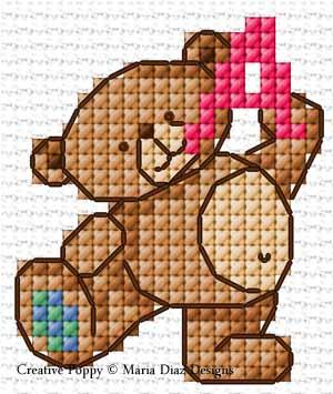 Alphabet aux petits oursons