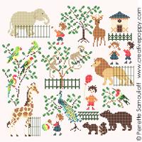 Bébé au zoo (grand modèle)