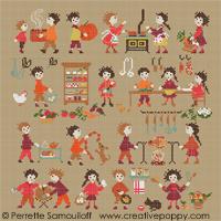 Perrette Samouiloff - Collection Bonheurs d'enfance - Cuisine