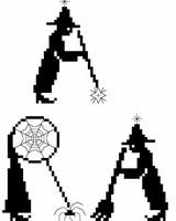 <b>Abracadabra!</b><br>grille point de croix<br>création <b>Monique Bonnin</b>