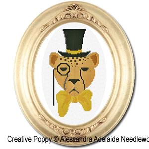 Alessandra Adelaide Needleworks - Gedeone (grille de broderie point de croix)
