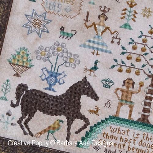 Modèles à broder avec chevaux
