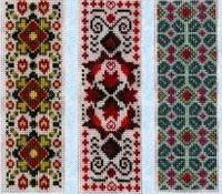 6 modèles de marque-page - grille point de croix - Tam's Creations
