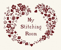 My stitching room