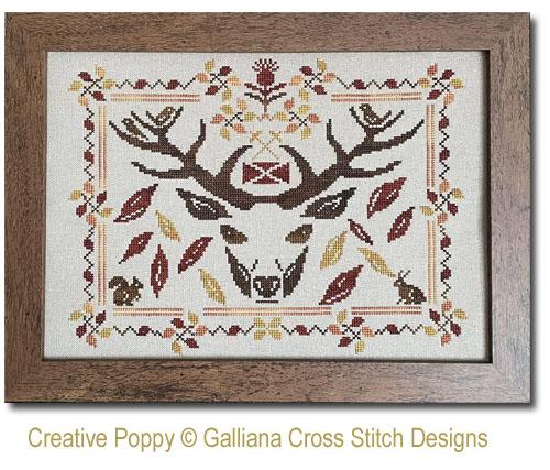Grille de point de croix Highland Fall par Galliana
