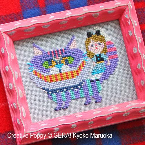 Le Chat du Cheshire , Alice au pays des merveilles - GERA! Kyoko Maruoka, zoom 1