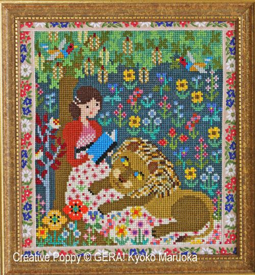 Orgueil et préjugés, grille de broderie, création GERA! Kyoko Maruoka