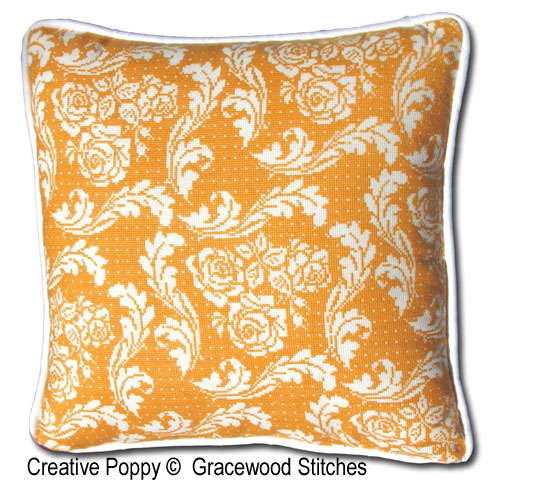 Gracewood Stitches - Séville (collection tissus vintage) (grille de broderie point de croix)