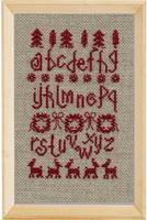 Marquoir scandinave, grille de broderie, création Agnes Delage-Calvet