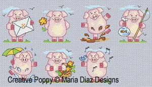 7 petits cochons