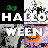 Nouveautés broderie au point de croix pour Halloween