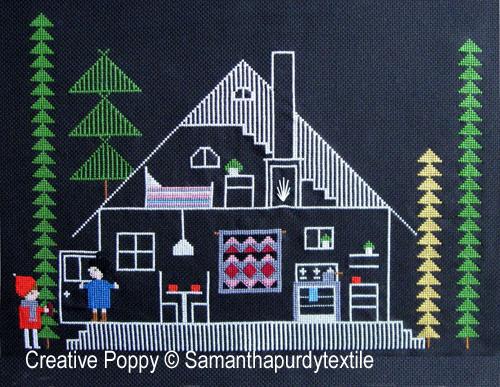 Samantha Purdy - Bienvenue (grille de broderie point de croix)