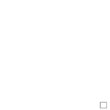 Faby Reilly - Biscornu Bouquet hivernal, zoom 2 (grille de broderie point de croix)
